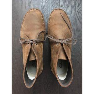 Clark's Bushacre Leather Chukka Boot